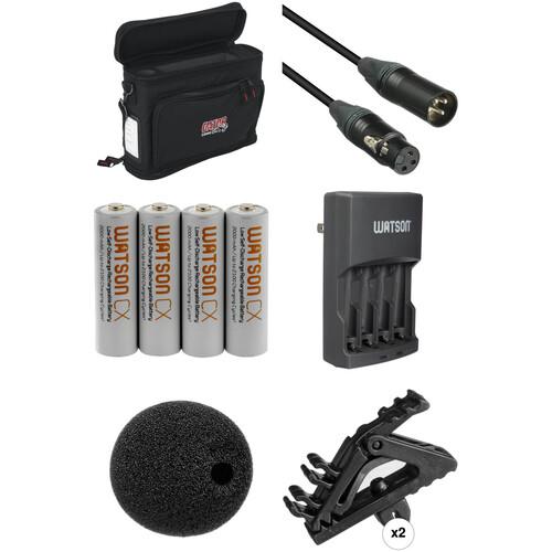 B&H Photo Video Wireless Lavalier Accessory Kit