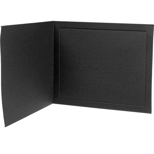 "B. Oshrin Firenza 8x10"" Folder (Black)"