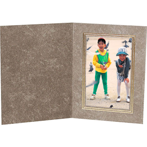 "B. Oshrin Scott 4x6"" Folder (Light Gray)"