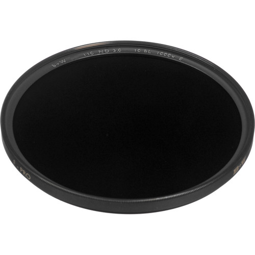 B+W 62mm SC 110 Solid Neutral Density 3.0 Filter (10 Stop)