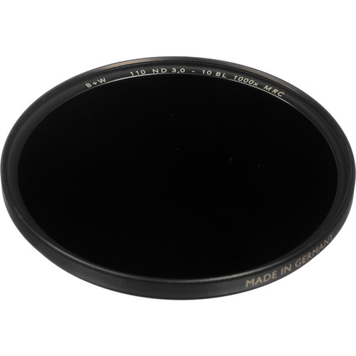 B+W 49mm MRC 110M Solid Neutral Density 3.0 Filter (10 Stop)