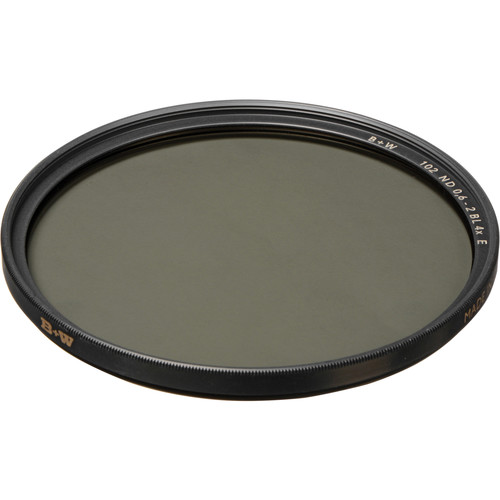 B+W 122mm SC 102 Solid Neutral Density 0.6 Filter (2 Stop)