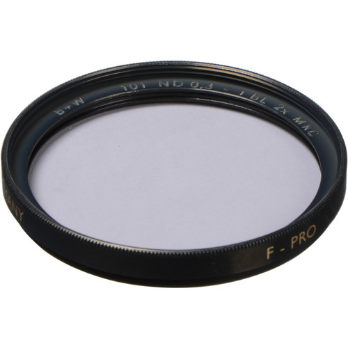 B+W 43mm MRC 101M Solid Neutral Density 0.3 Filter (1 Stop)