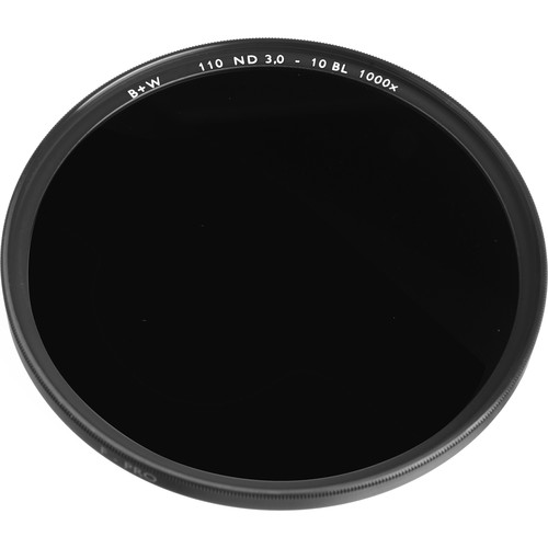 B+W 48mm SC 110 Solid Neutral Density 3.0 Filter (10 Stop)