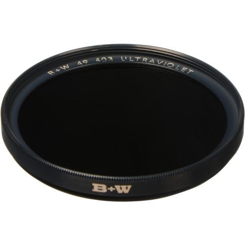 B+W 49mm UV Black (403) Filter