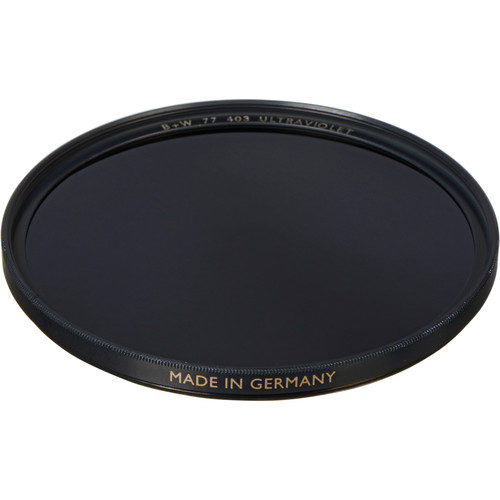 B+W 77mm UV Black (403) Filter