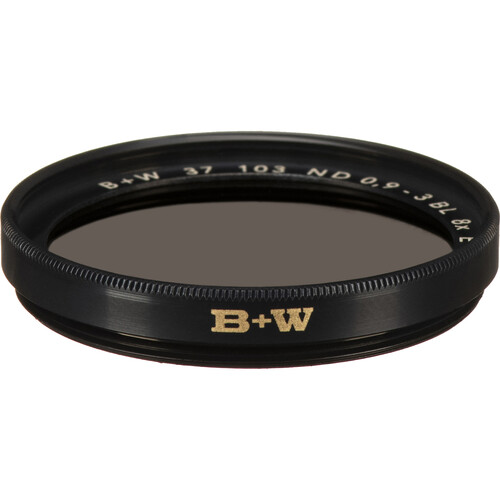 B+W 37mm SC 103 Solid Neutral Density 0.9 Filter (3 Stop)