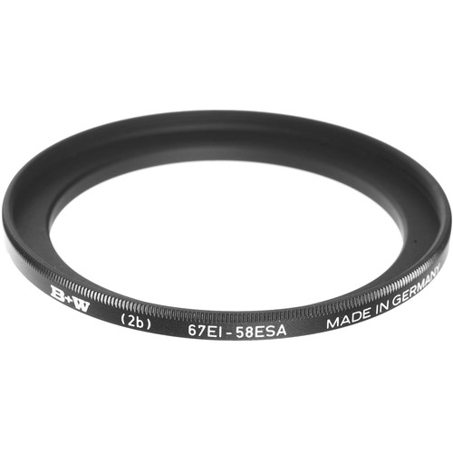 B+W 58-67mm Step-Up Ring