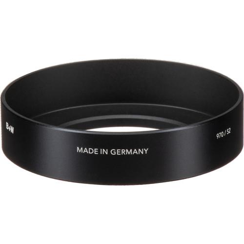 B+W 52mm Screw-In Metal Wide Angle Lens Hood #970