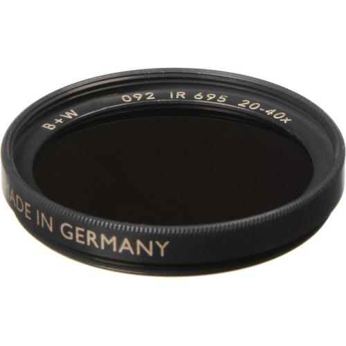 B+W 40.5mm IR Dark Red 092 Filter