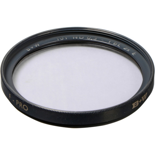 B+W 55mm SC 101 Solid Neutral Density 0.3 Filter (1 Stop)