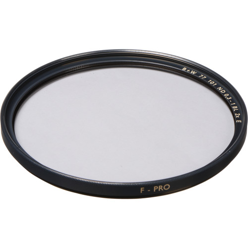 B+W 77mm SC 101 Solid Neutral Density 0.3 Filter (1 Stop)