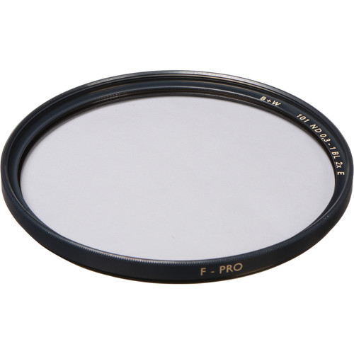 B+W 122mm SC 101 Solid Neutral Density 0.3 Filter (1 Stop)