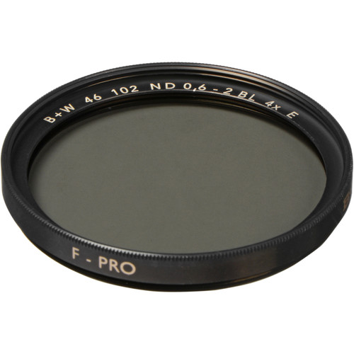 B+W 46mm SC 102 ND 0.6 Filter (2-Stop)
