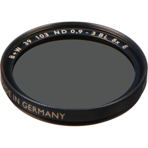B+W 39mm SC 103 Solid Neutral Density 0.9 Filter (3 Stop)