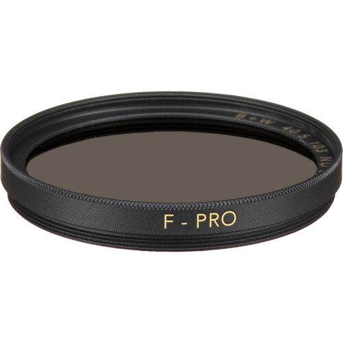 B+W 40.5mm SC 103 Solid Neutral Density 0.9 Filter (3 Stop)