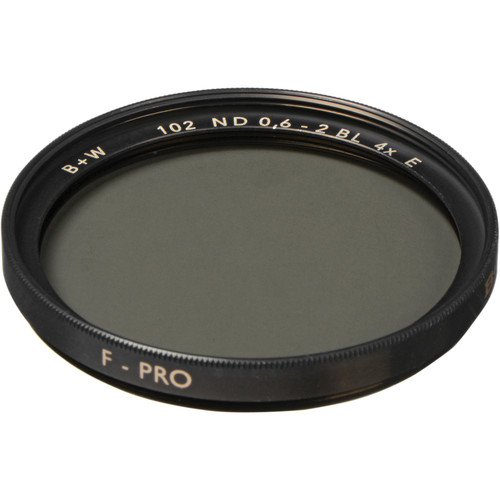B+W 52mm SC 102 ND 0.6 Filter (2-Stop)