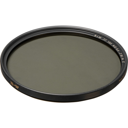 B+W 77mm SC 102 Solid Neutral Density 0.6 Filter (2 Stop)
