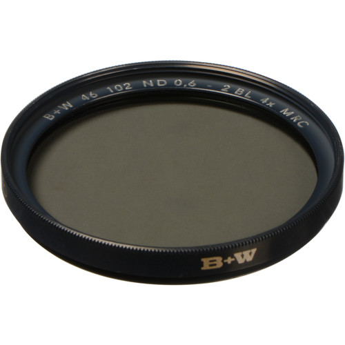 B+W 46mm MRC 102M Solid Neutral Density 0.6 Filter (2 Stop)