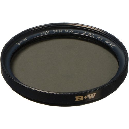 B+W 49mm MRC 102M Solid Neutral Density 0.6 Filter (2 Stop)