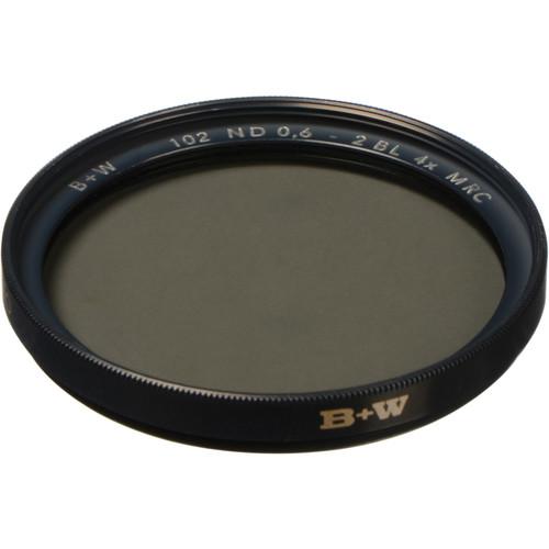 B+W 37mm MRC 102M Solid Neutral Density 0.6 Filter (2 Stop)