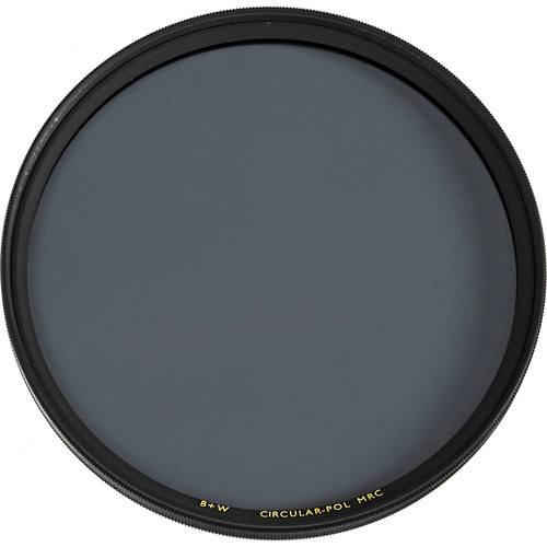 B+W 77mm Circular Polarizer MRC Filter