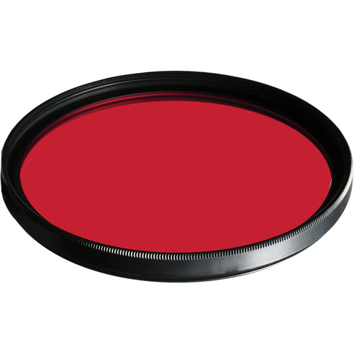 B+W 55mm Dark Red MRC 091M Filter