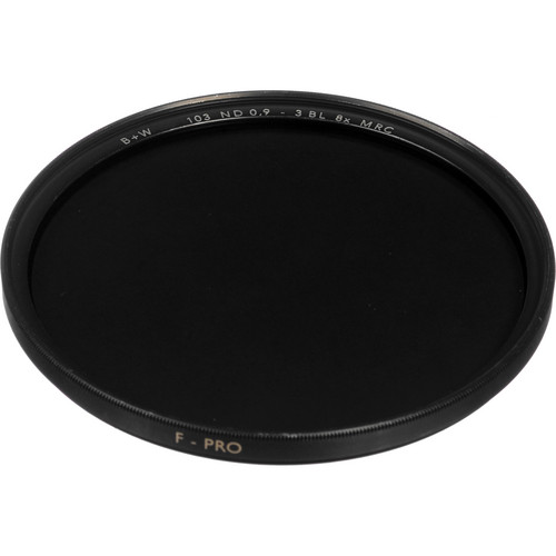 B+W 43mm MRC 103M Solid Neutral Density 0.9 Filter (3 Stop)