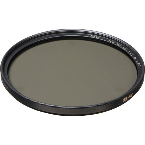 B+W 67mm MRC 102M Solid Neutral Density 0.6 Filter (2 Stop)