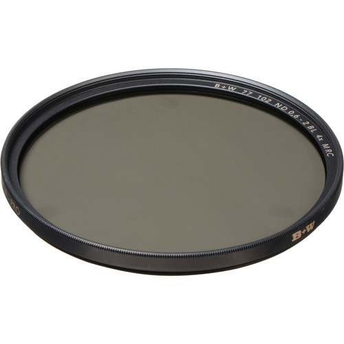 B+W 77mm MRC 102M Solid Neutral Density 0.6 Filter (2 Stop)