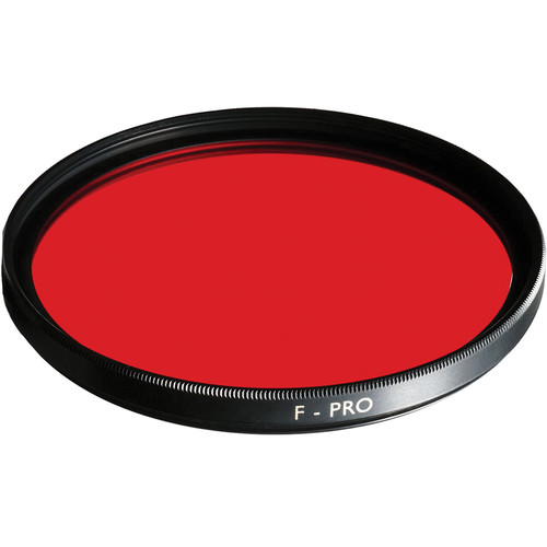 B+W 105mm 090 Light Red Multi-Coated (MC) Glass Filter