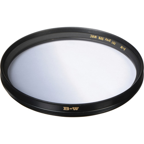 B+W 60mm MRC 701M Soft-Edge Graduated Neutral Density 0.3 Filter (1-Stop)