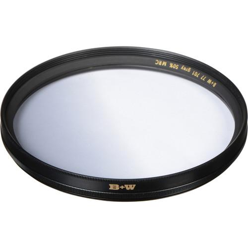 B+W 77mm Hard Edge Graduated Neutral Density 701 MRC 0.3 Filter (1-Stop)