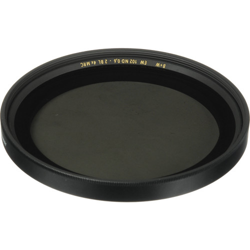 B+W 86mm #102 Neutral Density (ND) 0.6 Multi-Coated (MC) Extra Wide  Glass Filter