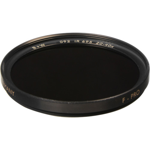 B+W 46mm IR Dark Red 092 Filter