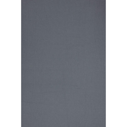 Backdrop Alley BAM24MDGRY Solid Muslin Background (10 x 24', Medium Gray)