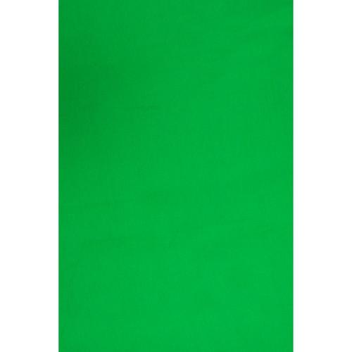 Backdrop Alley BAM24VDGRN Solid Muslin Background (10 x 24', Chroma Key Green)
