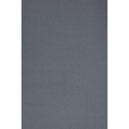 Backdrop Alley BAPH24MDGRY Premium Heavyweight Solid Muslin (10 x 24', Medium Gray)