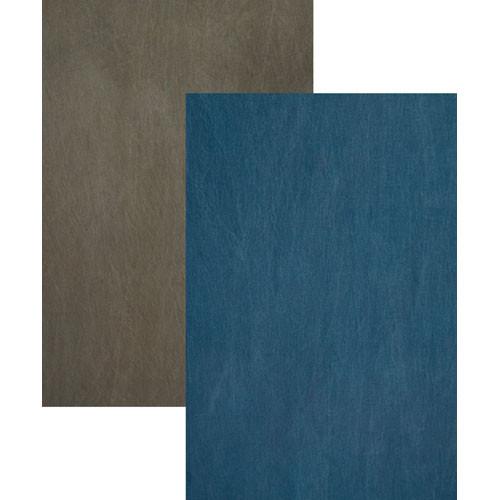 Backdrop Alley Reversible Muslin Backdrop (10 x 12', Blue/Gray)