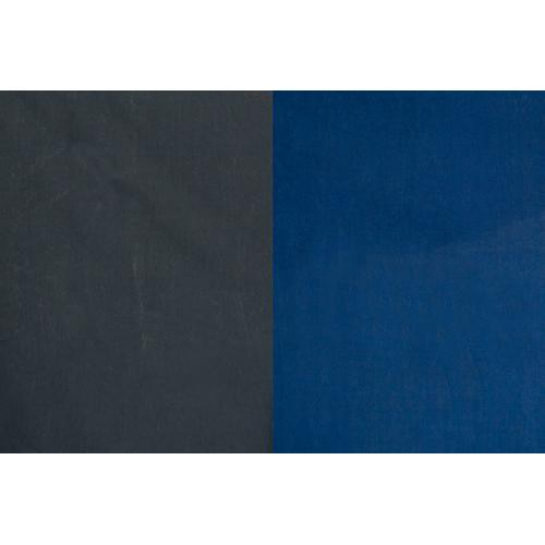 Backdrop Alley Reversible Muslin Backdrop (10 x 12', Medium Blue/Graphite)