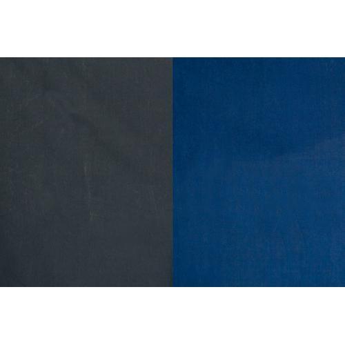 Backdrop Alley Reversible Muslin Backdrop (10 x 12', Medium Blue/Graphite)