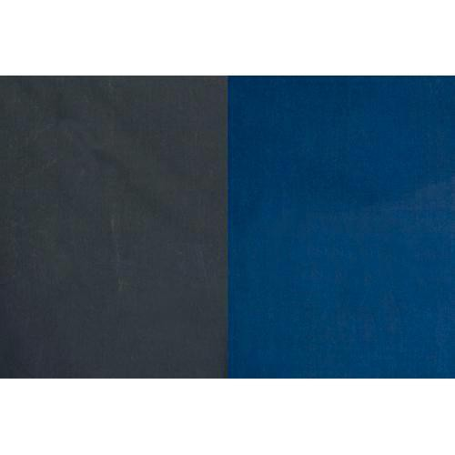 Backdrop Alley Reversible Muslin Backdrop (10 x 24', Medium Blue/Graphite)