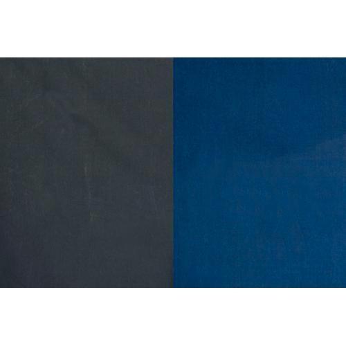 Backdrop Alley Reversible Muslin Backdrop (10 x 24', Medium Blue/Graphite)