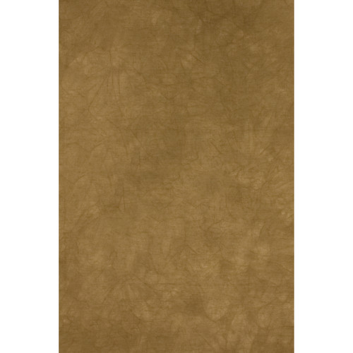Backdrop Alley Dusty Gold Crush and Tie-Dye Muslin Background (10 x 24')
