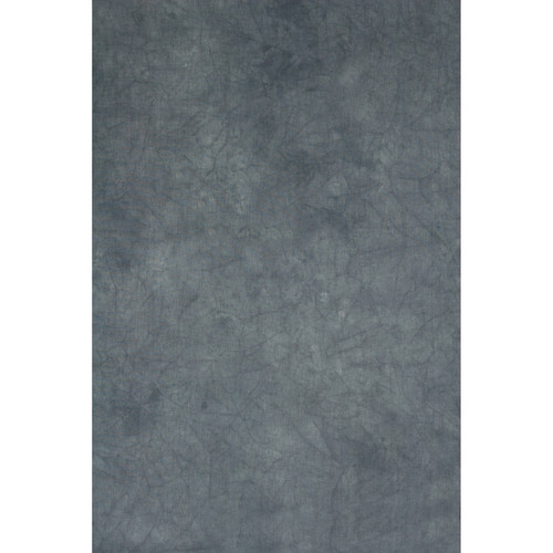 Backdrop Alley Gray Mist Crush and Tie-Dye Muslin Background (10 x 24')