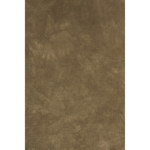 Backdrop Alley Taupe Crush and Tie-Dye Muslin Background (10 x 24')