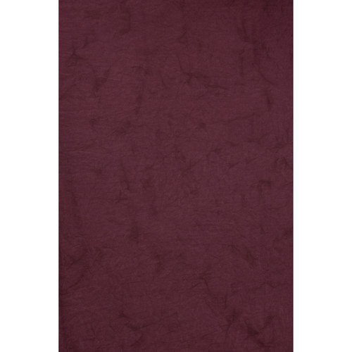 Backdrop Alley Crushed Muslin (10 x 24', Velvet Maroon)