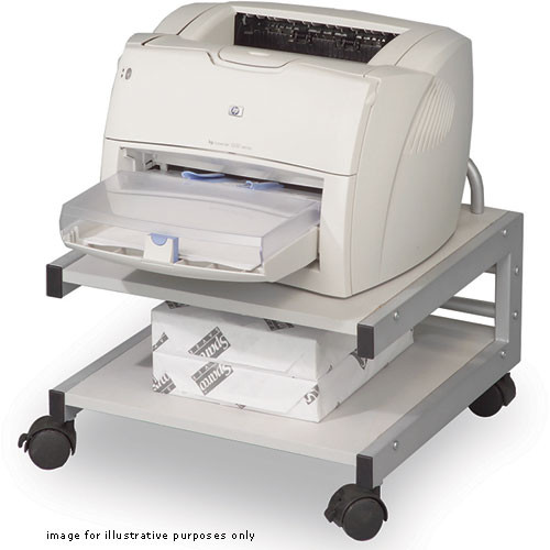 Balt BA27501 Low Profile Printer Stand (Gray)