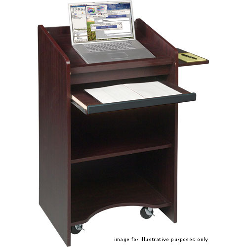 Balt Floor Lectern, Model 27508  (Mahogany)