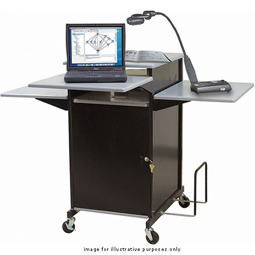 Balt Xtra Wide Presentation Cart, Model 27517 (Gray)